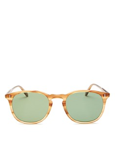 GARRETT LEIGHT - Men's Kinney Round Sunglasses, 49mm - 100% Exclusive